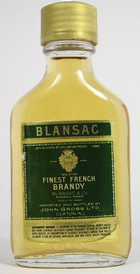 Б90. Blansac finest french brandy