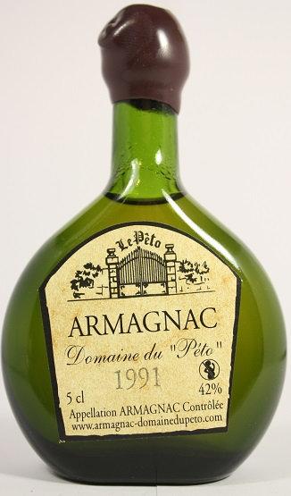 Armagnac Peto 1991