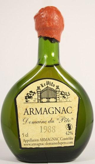 Armagnac Peto 1988