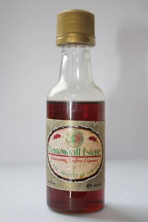 Baronhall Estate jamaican coffee liqueur