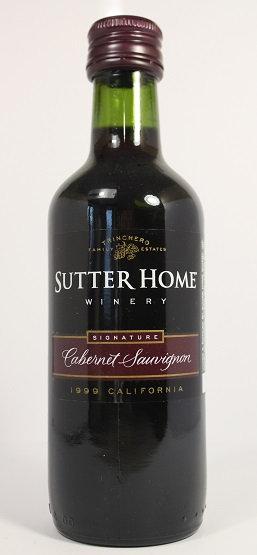 Б54. Sutter Home cabernet sauvignon 1999 California