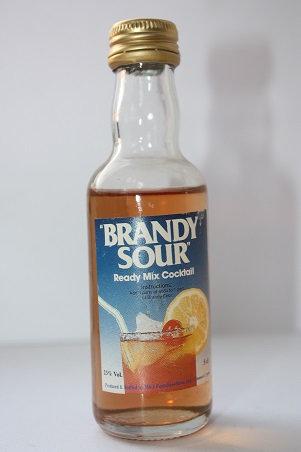 Brandy sour ready mix cocktail