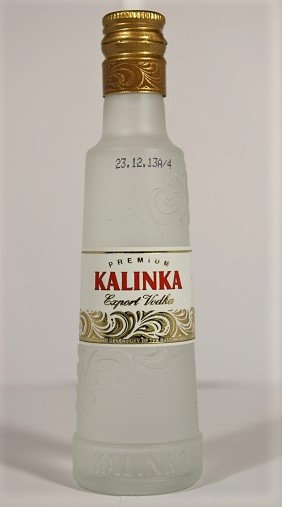 Kalinka premium export vodka