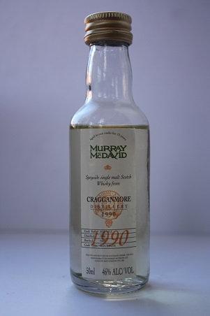 Murray Mc.David 1990 Cragganmore distillery, speyside single malt