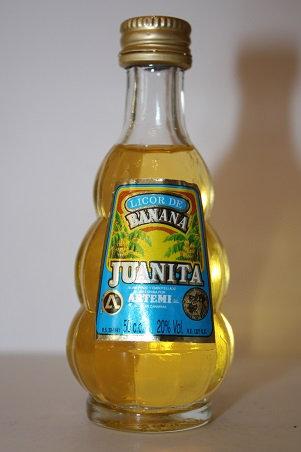 Juanita licor de banana