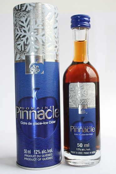 Pinnacle glace-iced Cider, recolte 2009