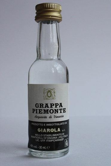 Grappa Piemonte