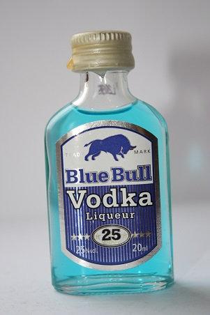 Blue bull vodka