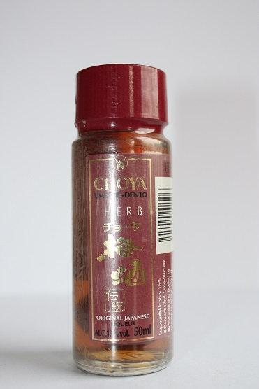 Choya umeshu-dento herb