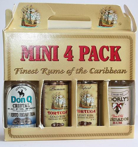 Н55 (Carribean rums 4 pack)