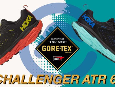 【Hoka Challenger ATR 6 GTX水屬性💧越野跑鞋】