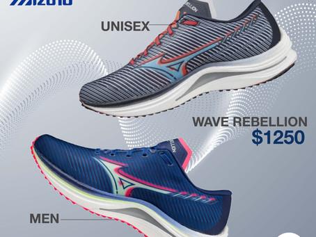 【3D疊色速度感🏃🏼 💨Mizuno Wave Rebellion】