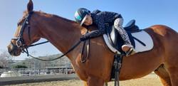 Brynn on Horse