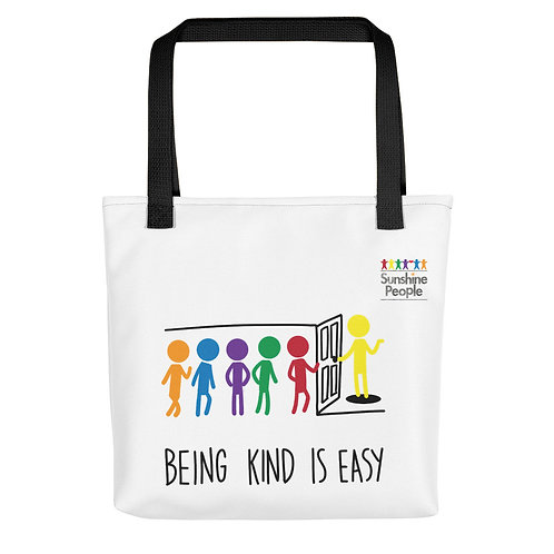 Tote bag - Being kind is easy