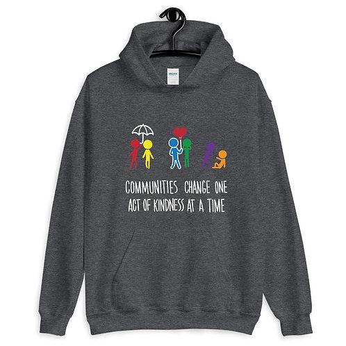Communities kindness - ADULT Unisex Hoodie