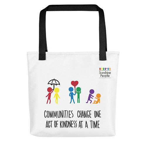 Tote bag - Communities change