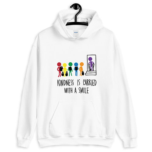 Carried with a smile - ADULT Unisex Hoodie