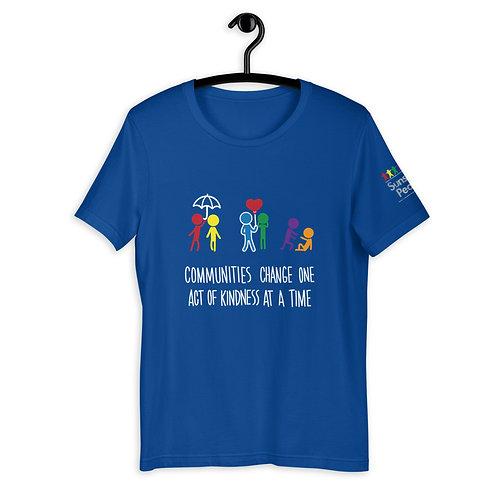 Community kindness - Dark Colours - ADULT - Unisex T-Shirt