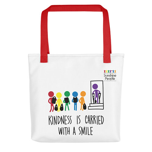 Tote bag - Carried with a smile