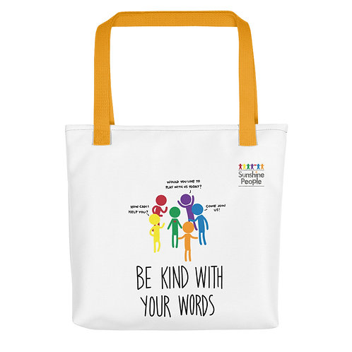 Tote bag - Be kind with your words