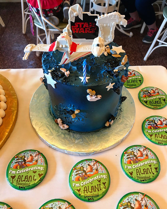 Disneyland Does Everything For You And All Have To Do Is Pay The Cake They Reserve Make MAGICAL