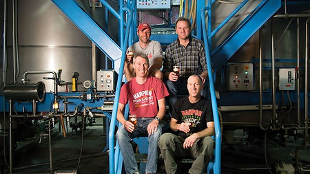 Harpoon VT brewers