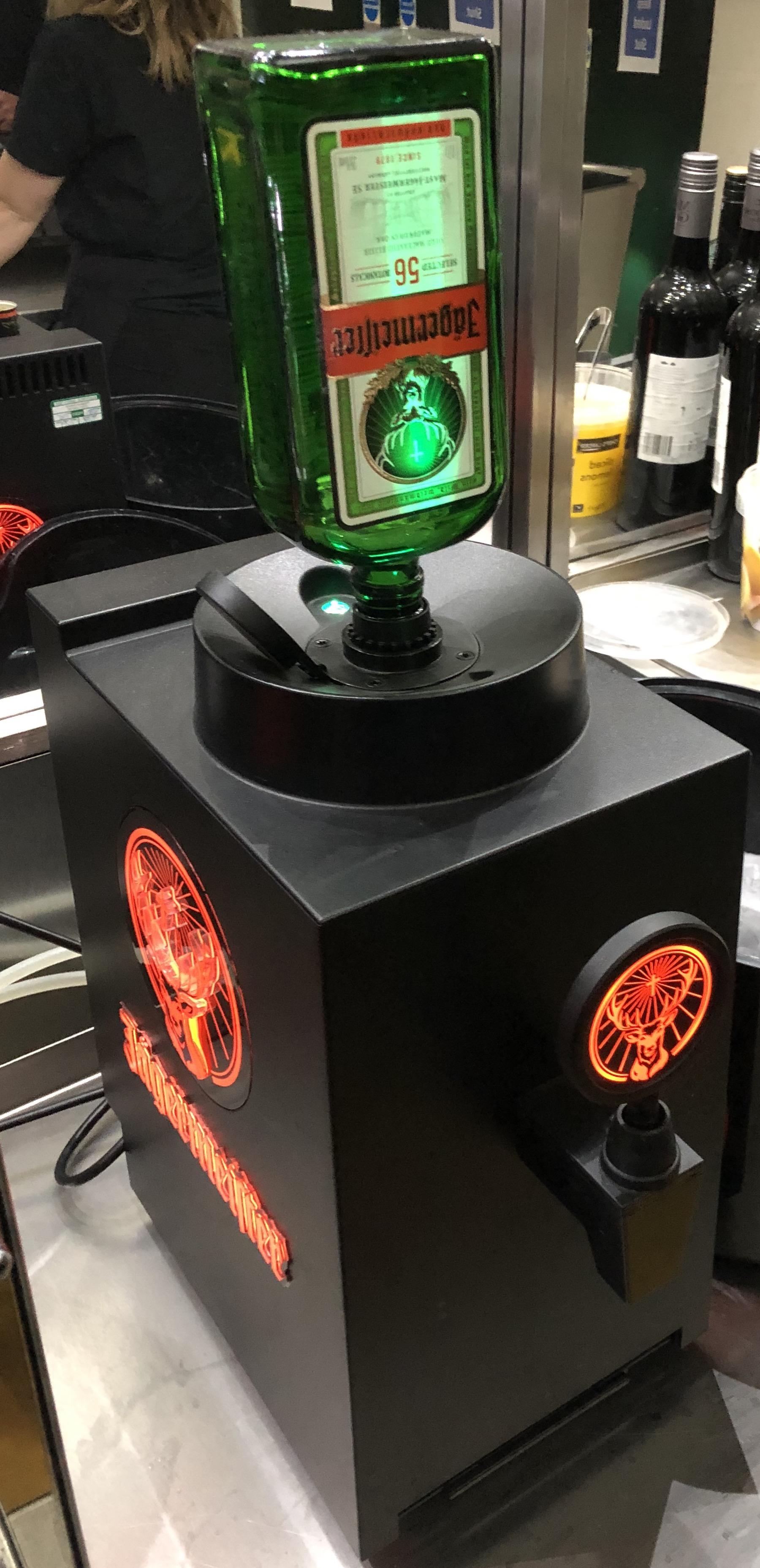 Single Bottle Jager Machine