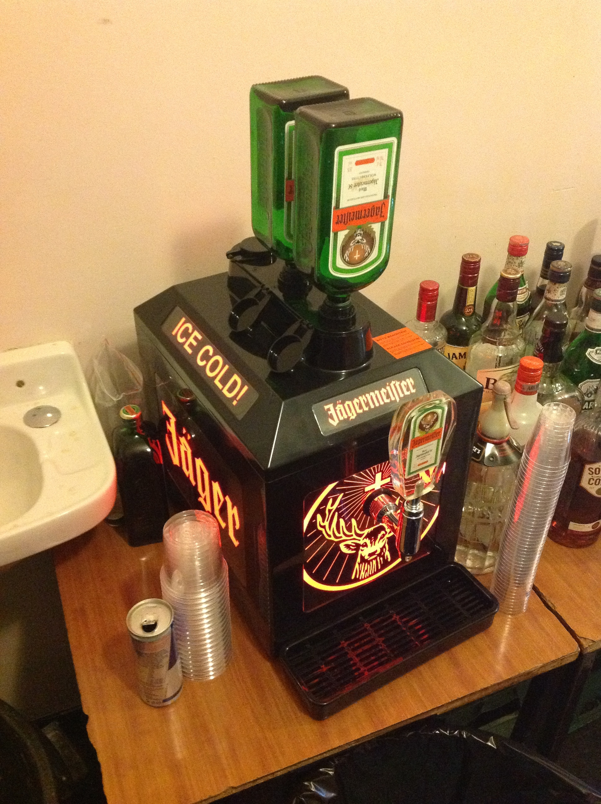 Our Jagermeister Machine