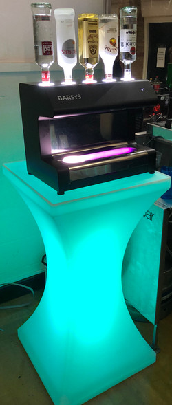 Colour Changing Podium Stand