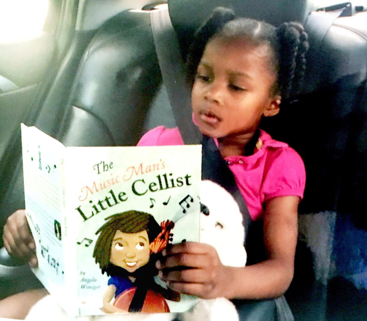 Reading at age 3.