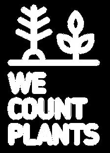 WeCountPlants Logo negativ.png