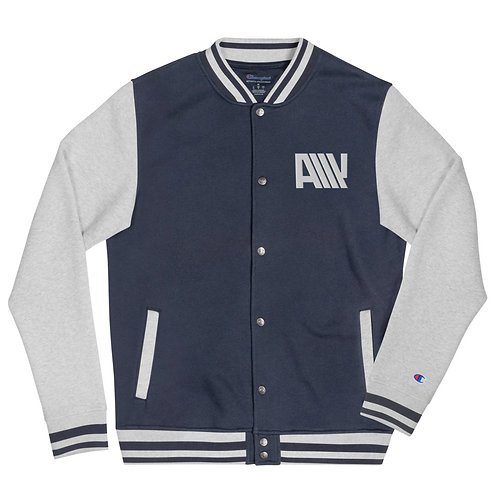 Lean Back Letterman Champion Jacket