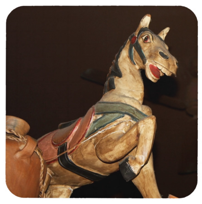 Mexican Horse Statue