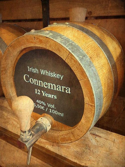 """Irish Whiskey Original """"Connemara"""" 12 Jahre 40% vom Fass"""
