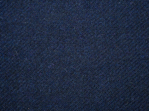"Original Harris Tweed Meterware ""Night Sky"" dunkelblau"