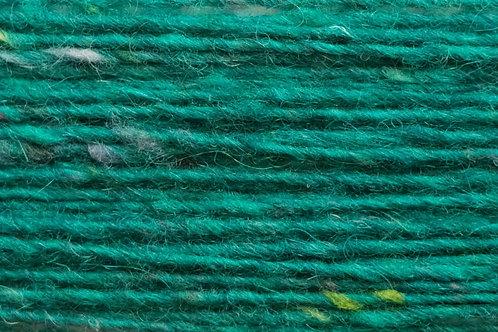Merino und Baby-Mohair Wolle Irische Strickwolle Wollgarn Grün Türkis