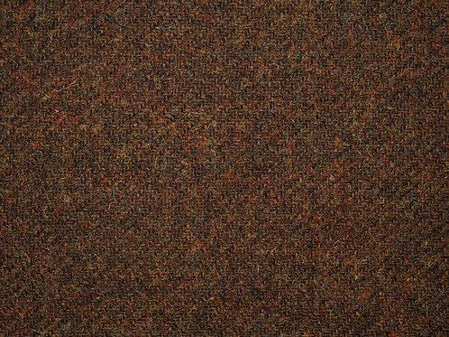 "Original Harris Tweed Meterware ""Autumn"" warm braun/orange"