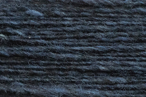 Merino und Baby-Mohair Irische Strickwolle Dunkelblau