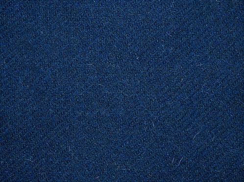 """Original Harris Tweed Meterware """"Marin"""" tiefes blau"""