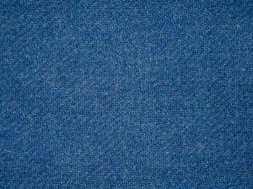 """Original Harris Tweed Meterware """"Sky view""""warm blau"""