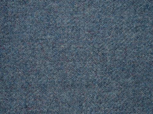 "Original Harris Tweed Meterware ""Blue Earl"" grau/blau"