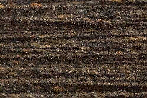 Merino und Baby-Mohair Irische Strickwolle Wollgarn Dunkelbraun
