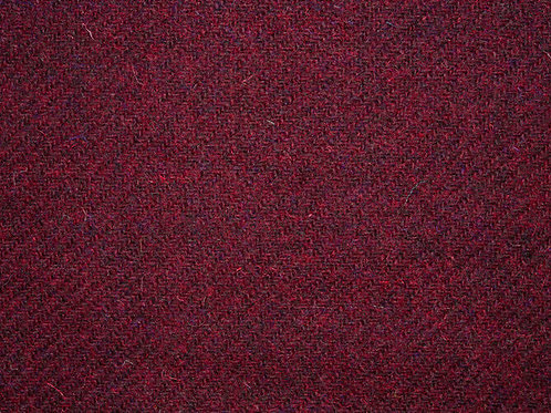 "Original Harris Tweed Meterware ""Italian Wine"" warm rot"