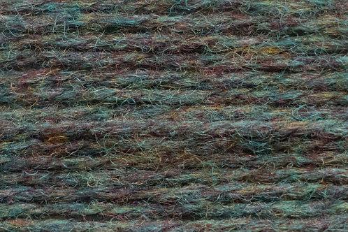 Irische Strickwolle Irish Pagan Wolle Rost Grün