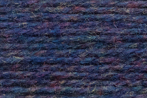 Irische Strickwolle Irish Pagan Wolle Violet Blau