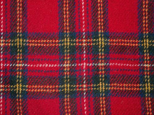 """Original Harris Tweed Meterware """"Highland Lord"""" rot/blau/gelb"""