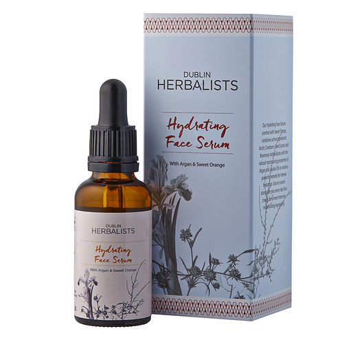Dublin Herbalists Hydrating Gesichts Serum mit Argan Öl & Sweet Orange