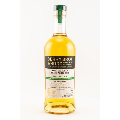 Irish Single Malt Whiskey 10 y.o. (Berry Bros and Rudd)