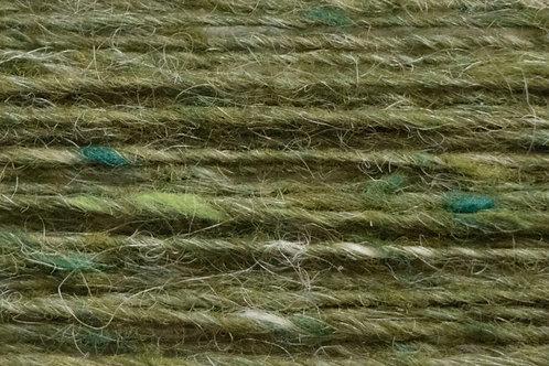 Merino und Baby-Mohair Wolle Irische Strickwolle Feld Grün