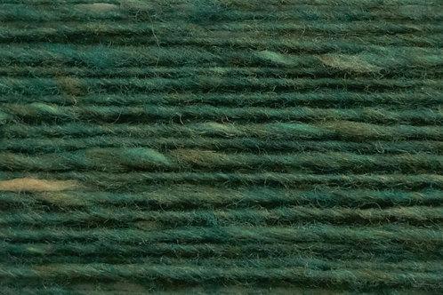100% Irische Merinowolle Softe Strickwolle Tiefes Blattgrün